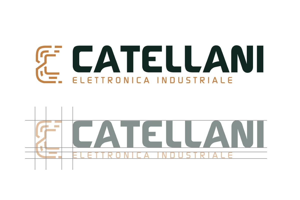 logodesign e costruzione logo Catellani di HappyBranding