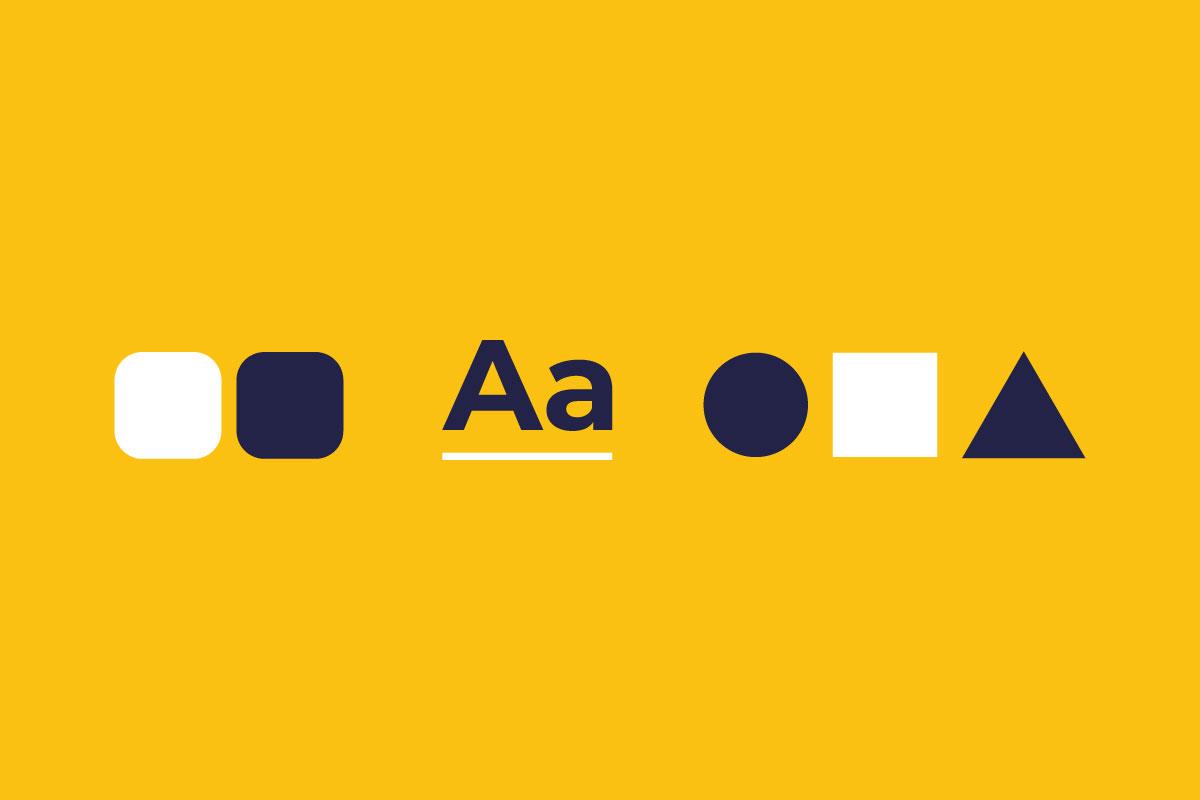 Gli elementi distintivi di un logo - colori - forme e font